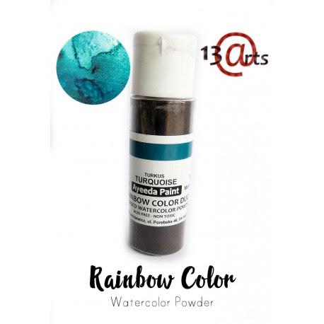RAINBOW COLOR Farba akwarelowa w proszku