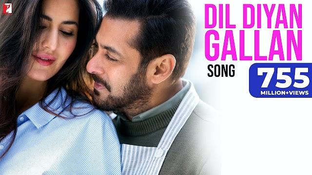 Dil Diyan Gallan Lyrics  | Tiger Zinda Hai  | Atif Aslam