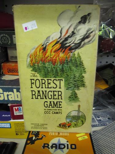 forest ranger game
