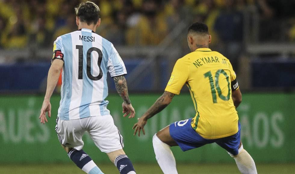Resultado Brasil x Argentina gols pelas eliminatorias