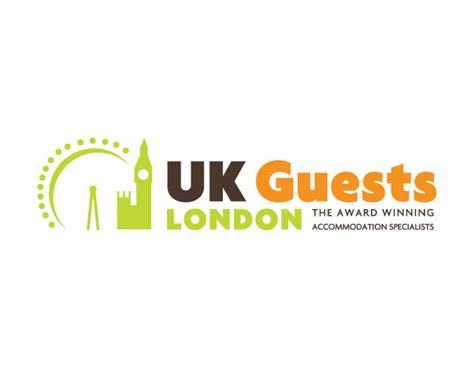 uk guests london logo design big web company