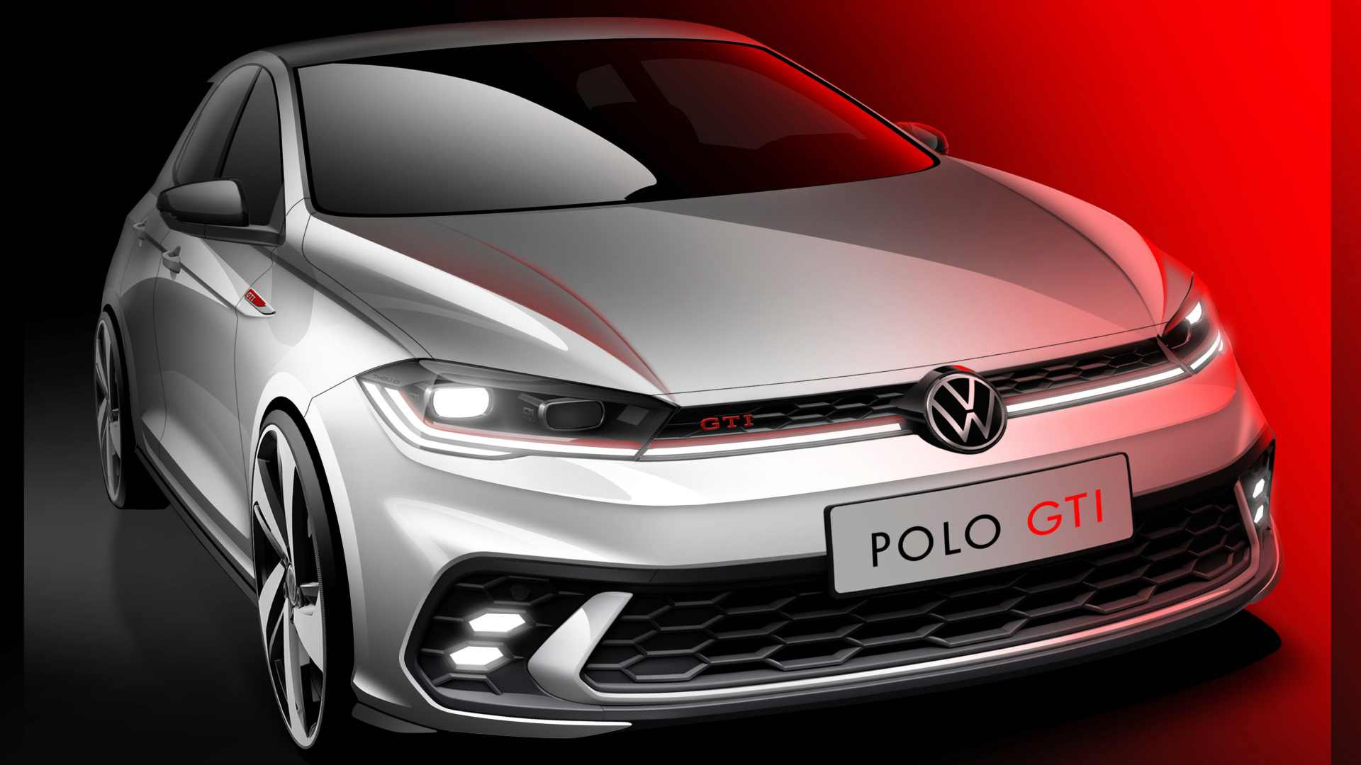 This is the first major update for the current-gen Volkswagen Polo GTI since its debut in 2018. Image: Volkswagen