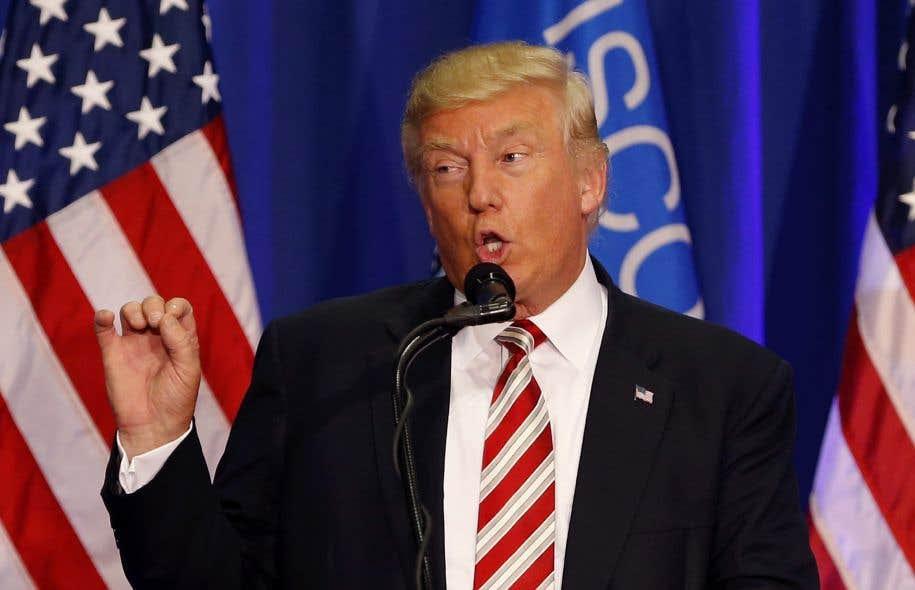 Le candidat républicain à la présidence américaine Donald Trump