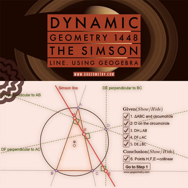 Dynamic Geometry Problem 1447: Outer Vecten Point. Using GeoGebra.