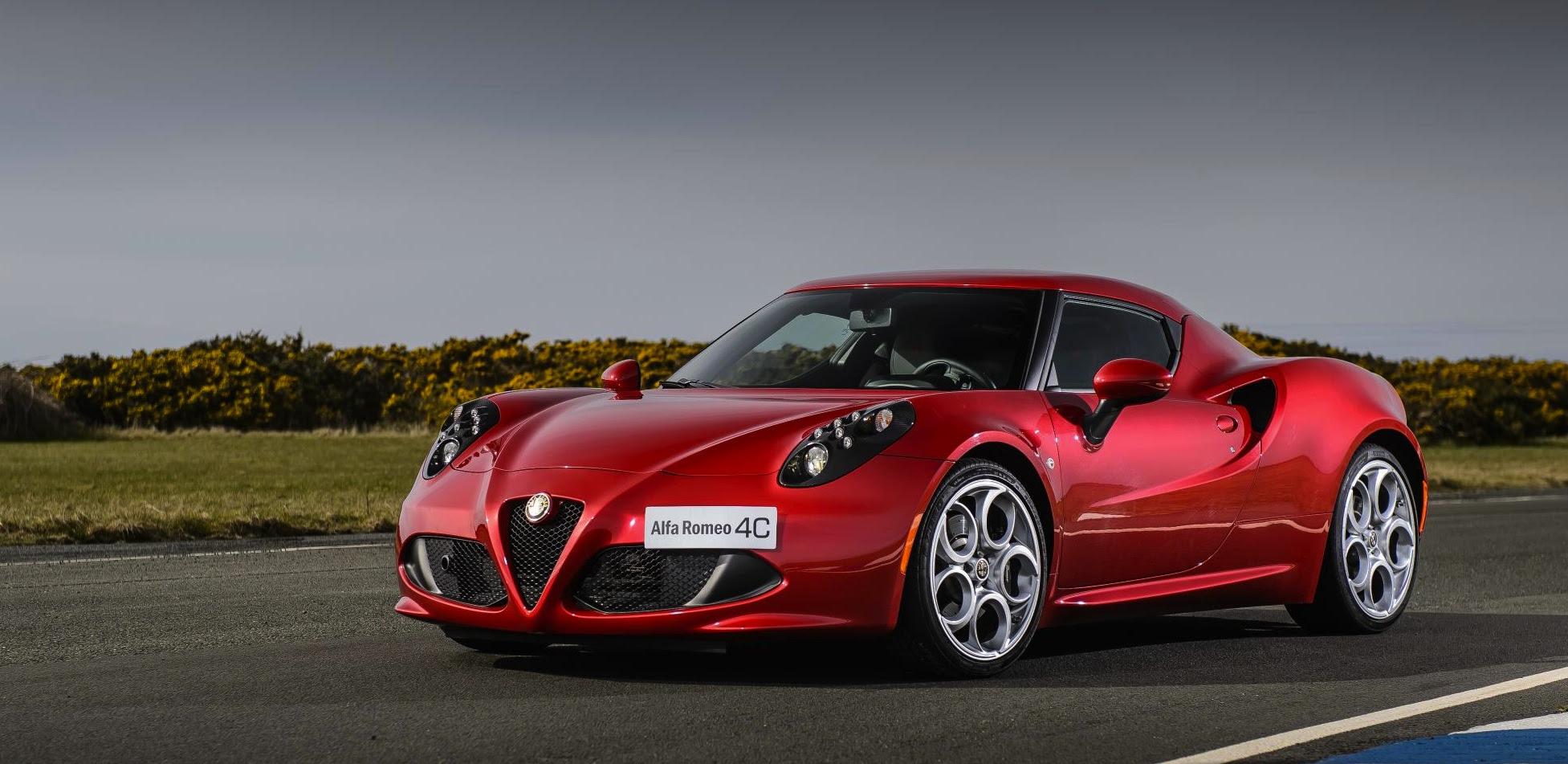 Good News: Alfa Romeo's Future Will Be A Festival Of 4WD & RWD