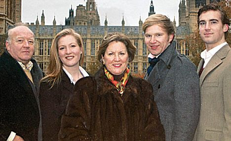 kate middleton family background. Conway family