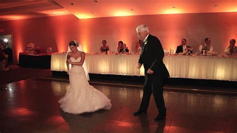 Surprise Father Daughter Dance   Choreographed Bride and