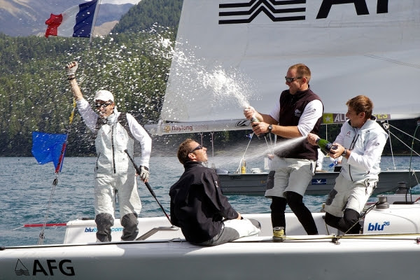 Richard will be looking to recreate his success at last year's St Moritz Match Race. Photo: Ian Roman / WMRT
