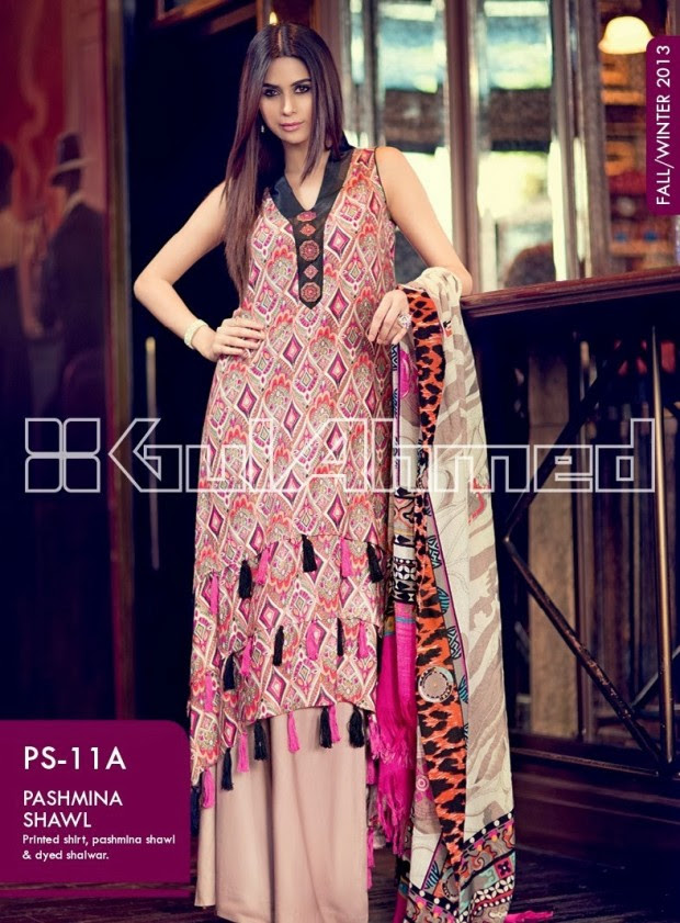 Beautiful-Cute-Girls-New-Fashionable-Dress-Design-by-Gul-Ahmed-Fall-Winter-Collection-2013-14-16