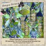Blue Fantasy Cu 4 Cu Mix FS