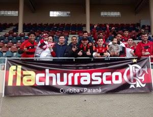 flamengo treino torcida (Foto: Cahe Mota)