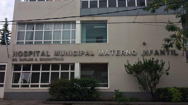 El hospital donde fue traslada la beba que perdió su vida