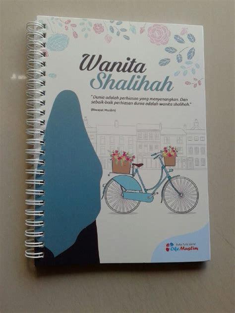 buku tulis islami spiral cover wanita shalihah