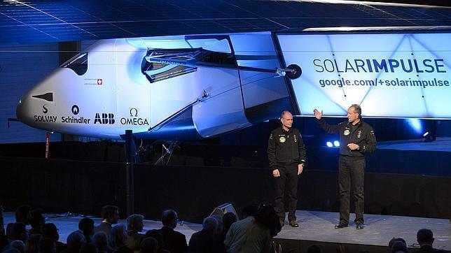 Así es el primer avión solar que dará la vuelta al mundo en 2015