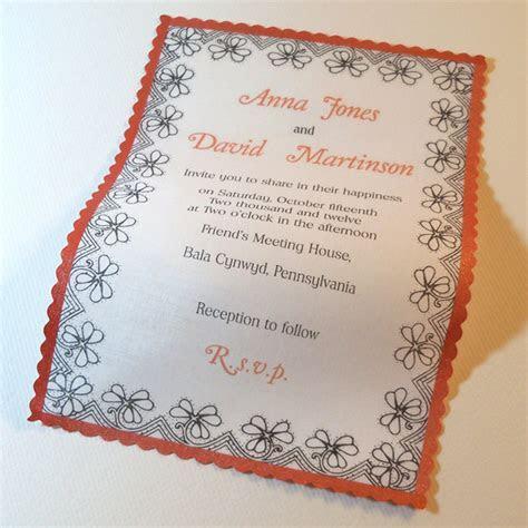 Unusual Wedding Invitation Ideas   WeddingElation