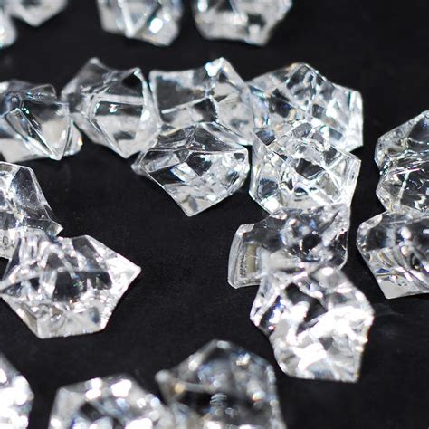 acrylic rock diamonds table scatter confetti floral