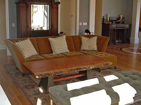 Chajo: Handcrafted Art Furnishings - Bench Coffee Table
