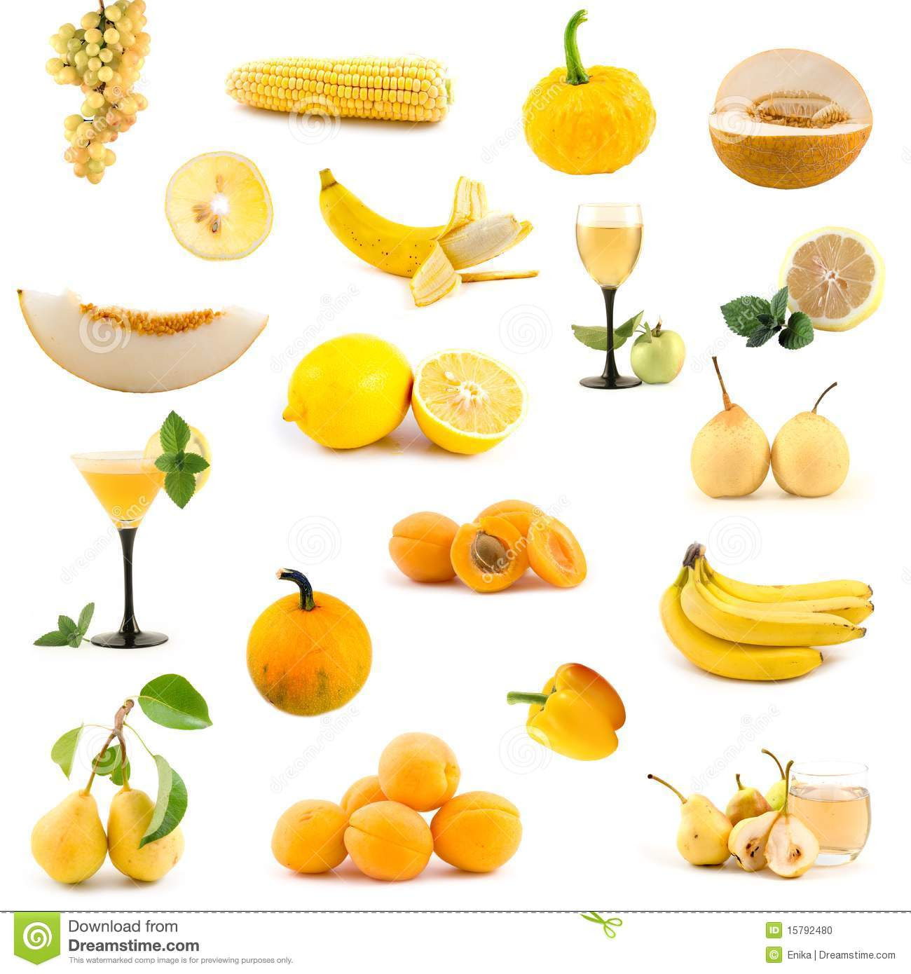 Different Fruits And Vegetables Names - English Lessons