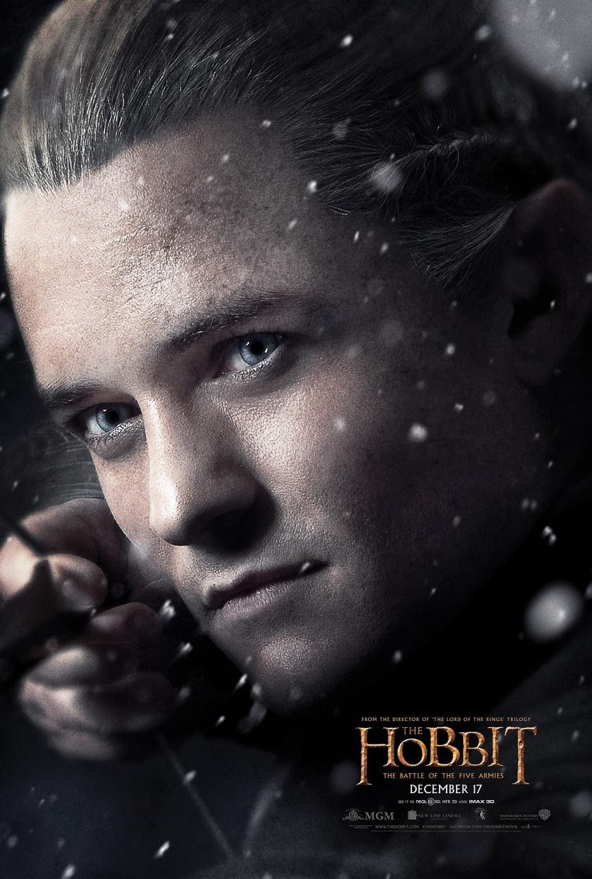 The Hobbit The Battle of the Five Armies Character Posters