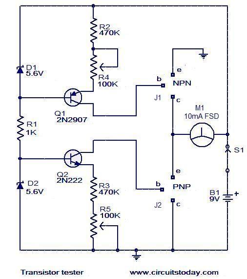 Electronica Probador De Transistores 2