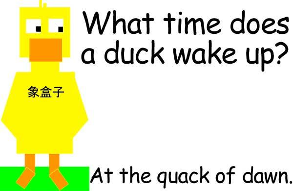 duck quack crack