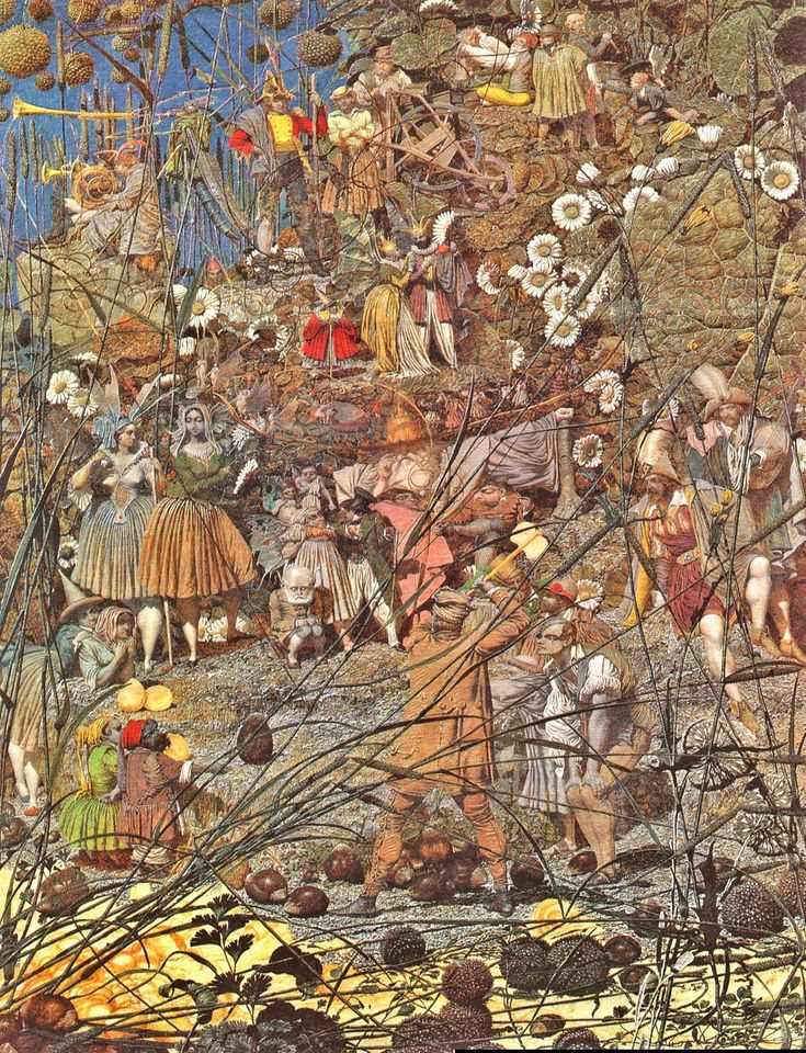 Richard Dadd - El golpe maestro del leñador
