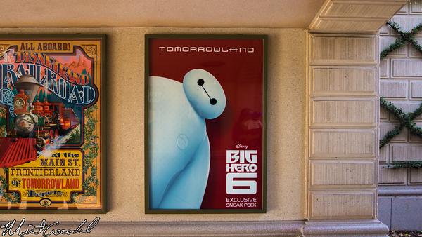 Disneyland Resort, Disneyland, Big Hero 6, Poster