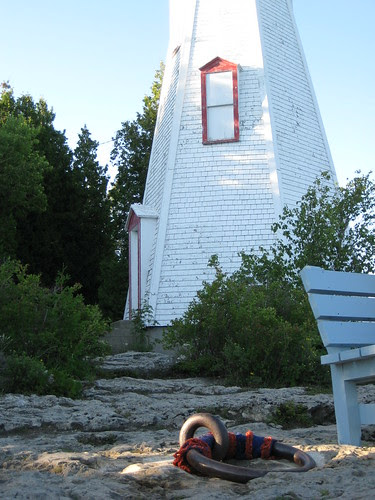 lighthouse at Big Tub Harbour, Tobermory