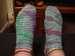 fix socks on feet