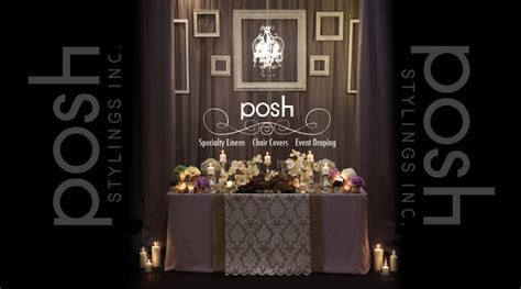 posh stylings inc. Wedding Flowers And Decor Vaughan