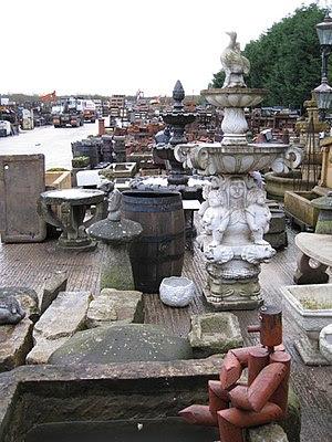 English: Reclamation yard, Moss Lane, Macclesf...