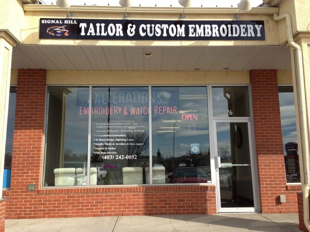 Signal Hill Tailor & Custom Embroidery - Calgary, AB, Canada