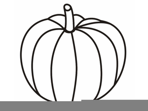 Free Clipart Pumpkin Outline Free Images At Clkercom Vector
