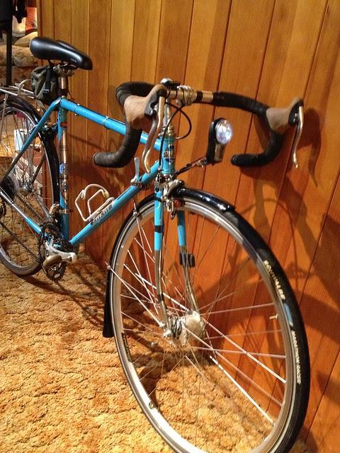 Gitane, ready to step in as substitute bike