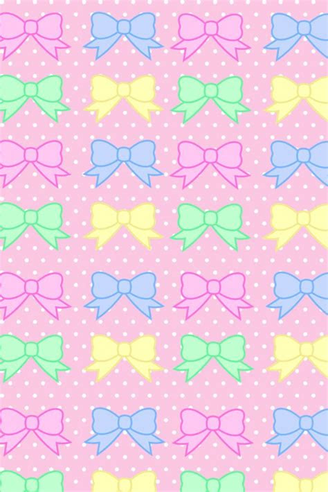 bows wallpaper  phone wallpaperpatternbackground