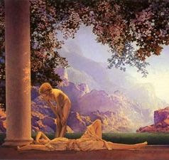 Daybreak, Maxfield Parrish