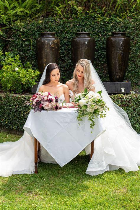 Melbourne Wedding Courtyard Ceremony   Ballara Wedding