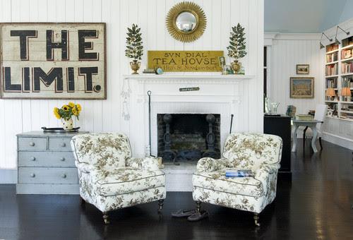 Linda Banks traditional living room