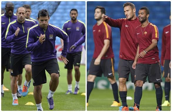 Ver Manchester City vs AS Roma En vivo Por Internet