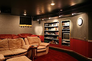 This example is of home theater screening room...