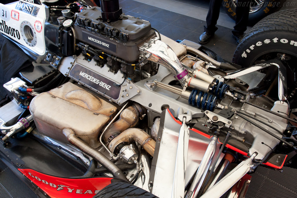 Penske PC23 Mercedes (s/n PC23/7 - 2011 Goodwood Festival ...