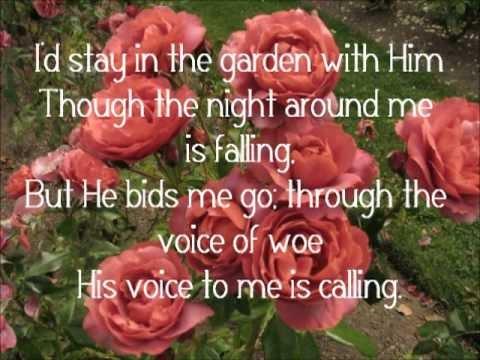 Lyrics To In The Garden Alan Jackson