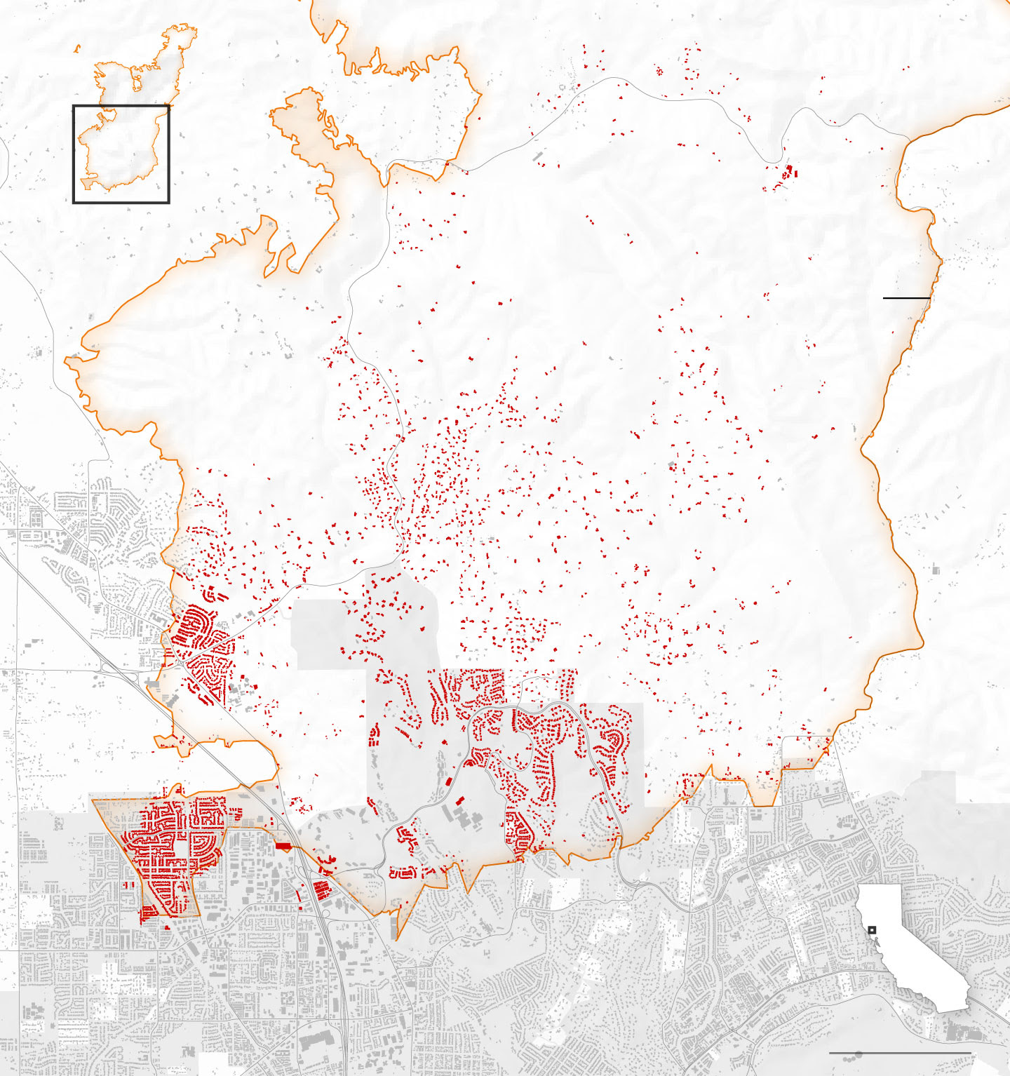 Northern California Fires Have Destroyed At Least 5700