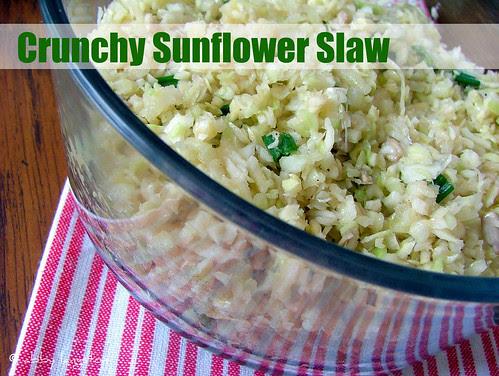 Sunflower Slaw