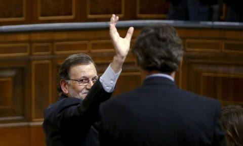 Mariano Rajoy, en el Congreso. Archivo REUTERS