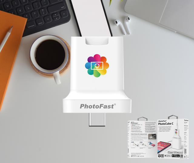 【Photofast Photocube C 備份方塊】Type-C 插頭、Apple/Android 手機適用