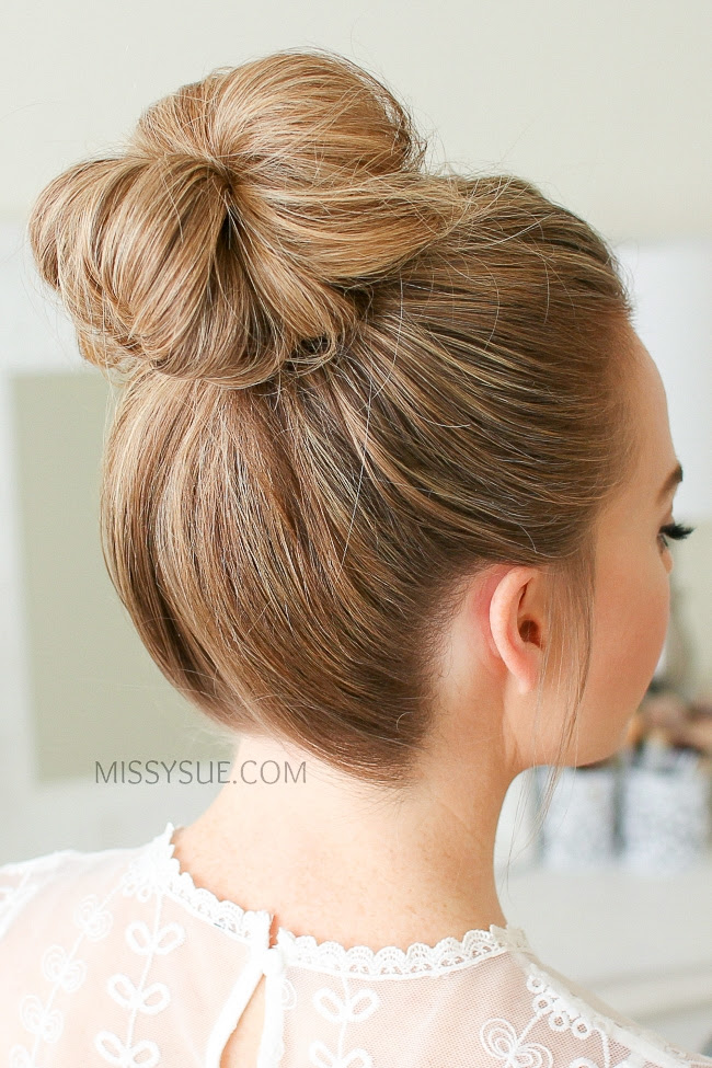 Messy Buns Step By Step