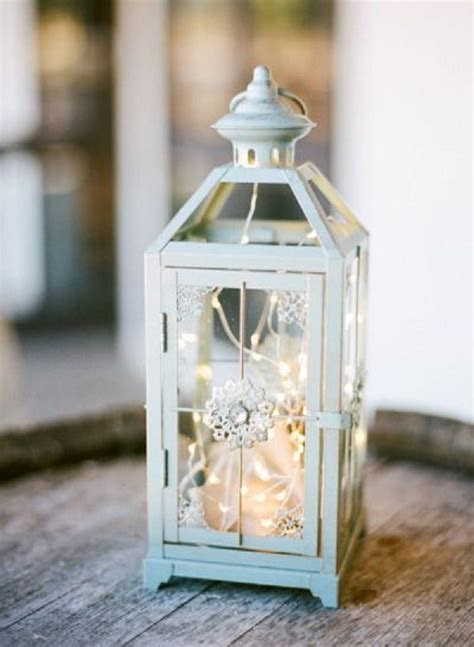 17 Best ideas about Rustic Lantern Centerpieces on