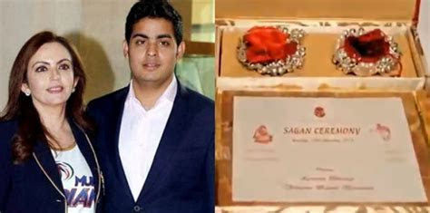 Akash Ambani's Viral Wedding Card Worth Rs. 1.5 Lakhs is