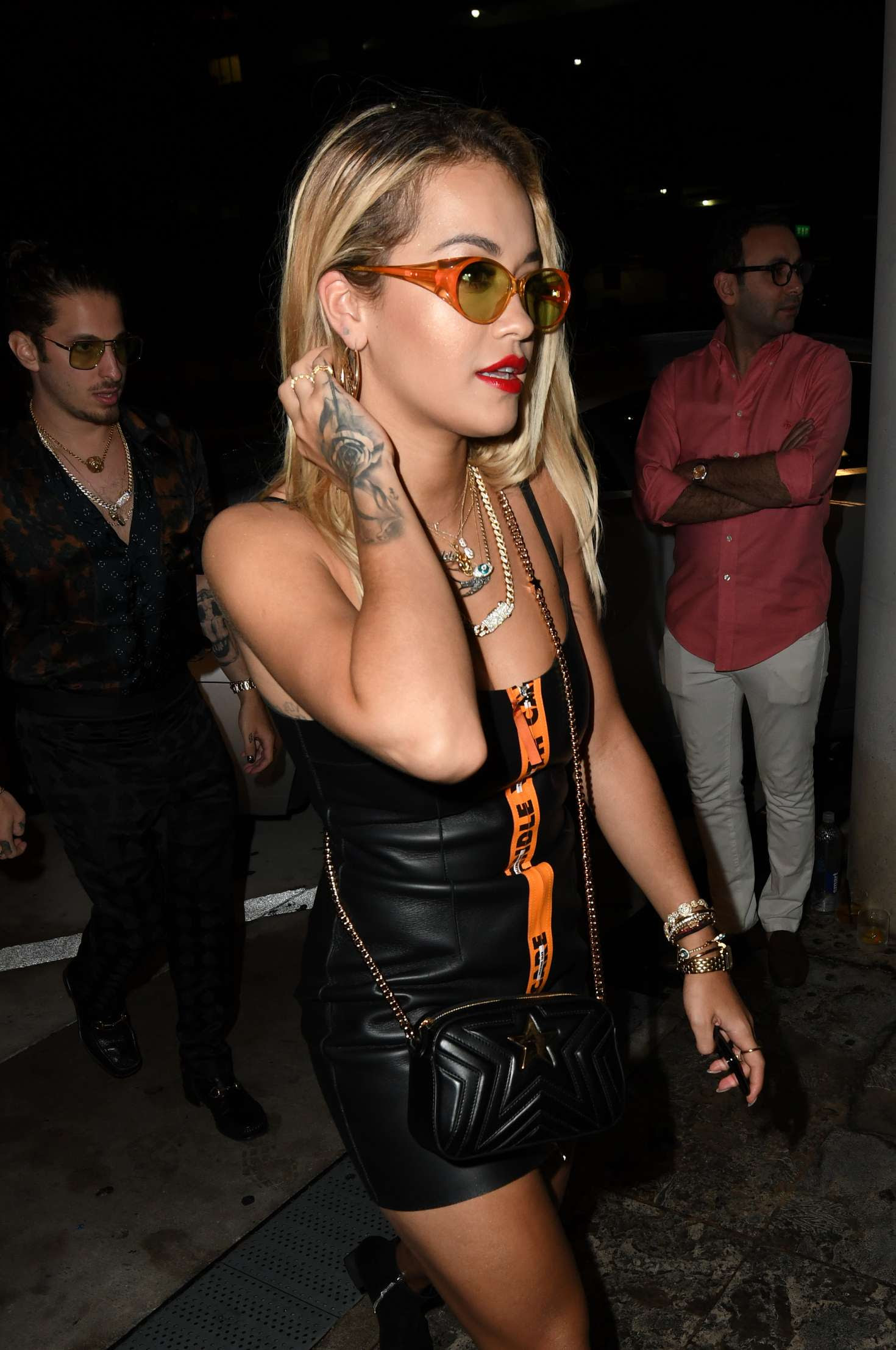 Rita Ora – Heads to dinner at Komodo in Miami
